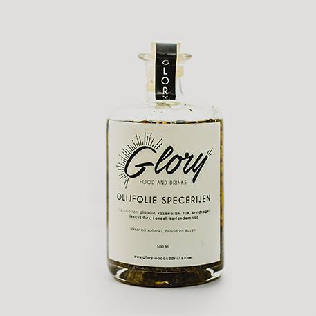 Glory olijfolie specerijen